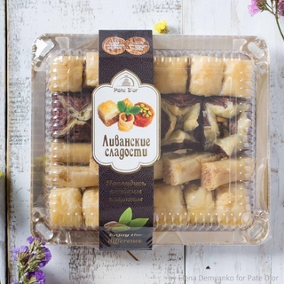 Ливанские сладости Pate D`or ассорти Беритос, 350 гр