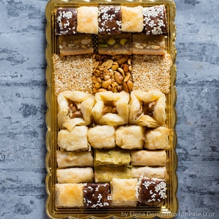Ливанские сладости Pate D`or ассорти Голд, 450 гр