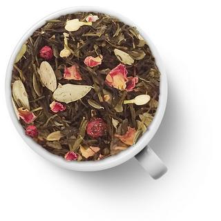 Чай зеленый ароматизированный Gutenberg брусника, 50 гр