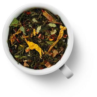 Чай зеленый ароматизированный Gutenberg бенгальский тигр, 50 гр