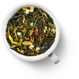 Чай зеленый ароматизированный Gutenberg восемь сокровищ шаолиня, 50 гр