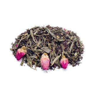 Чай ароматизированный зеленый с черным Gutenberg идеал, 50 гр