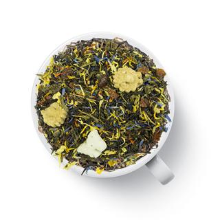 Чай ароматизированный зеленый с черным Gutenberg альпийский луг, 50 гр
