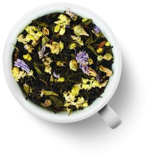 Чай ароматизированный зеленый Gutenberg с черным князь багратион, 50 гр