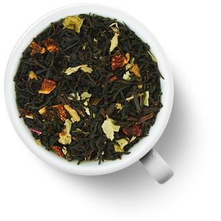 Чай черный ароматизированный Gutenberg земляничный десерт, 50 гр