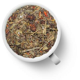 Чай зеленый ароматизированный Gutenberg брызги шампанского, 50 гр