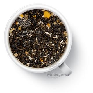 Чай зеленый ароматизированный Gutenberg свежая ромашка, 50 гр