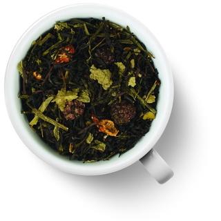 Чай зеленый с черным Gutenberg лесные ягоды, 50 гр