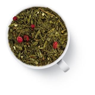 Чай зеленый ароматизированный Gutenberg имбирь с ягодами, 50 гр