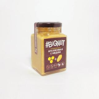 Арахисовая паста Добрые традиции с медом, 240 гр