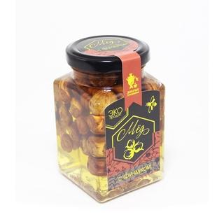 Акациевый мёд Добрые традиции с фундуком, 300 гр