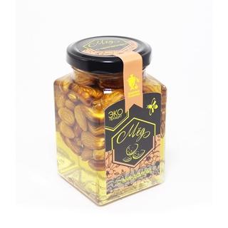 Акациевый мёд Добрые традиции с миндалем, 300 гр