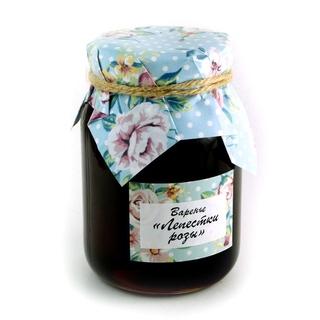 Варенье Добрые традиции лепестки роз, 380 гр