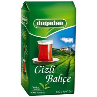 Турецкий черный чай Dogadan тайный сад, 500 гр