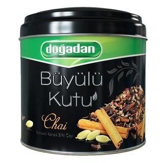 Турецкий зеленый чай Dogadan волшебный ларец со специями, 100 гр