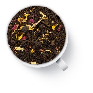 Чай черный ароматизированный Gutenberg малиновый десерт, 50 гр