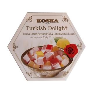 Рахат лукум KOSKA с ароматом розы, 250 гр
