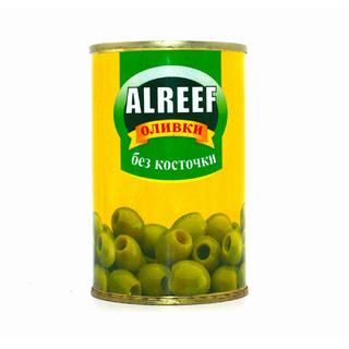 Оливки зеленые Al Reef, 280 гр