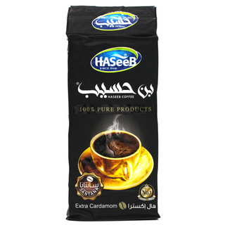 Арабский молотый кофе Haseeb extra с кардамоном, 200 гр