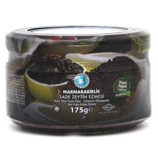 Оливковая паста Marmarabirlik из черных оливок без специй, 175 гр