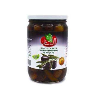 Оливки черные Rawiat Al Sham, 400 гр