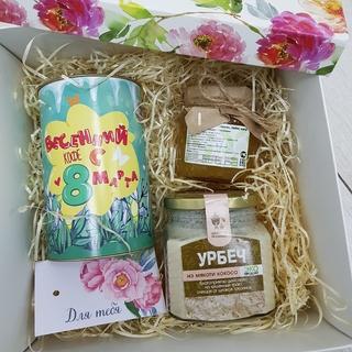 Подарочный набор Весенний кофе