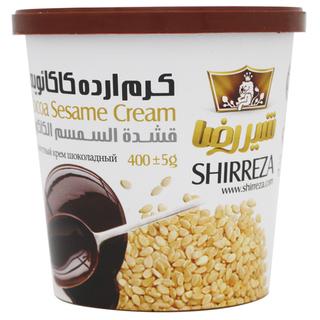 Кунжутный крем Shirreza шоколадный, 400 гр