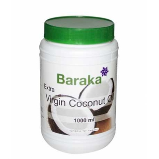 Кокосовое масло Baraka extra virgin, 1000 мл