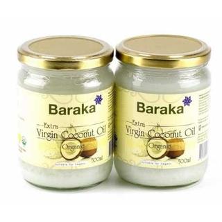 Кокосовое масло Baraka extra virgin, 200 мл