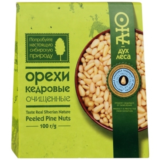 Кедровые орехи Дары сибири очищенные, 100 гр