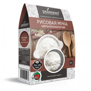 Рисовая мука Polezzno, 500 гр