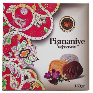 Пишмание Hajabdollah со вкусом ванили, какао и шафрана в подарочной упаковке, 160 гр