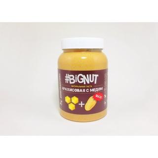 Арахисовая паста Добрые традиции с медом, 1000 гр