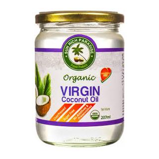Кокосовое масло Sun rich paradise extra virgin, 500 мл