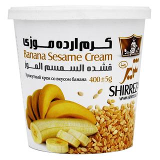 Кунжутный крем Shirreza с бананом, 400 гр