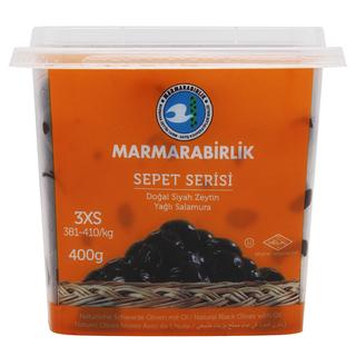 Маслины Marmarabirlik sepet serisi вяленые 3XS, 400 гр