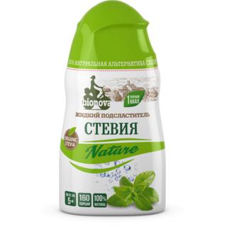 Жидкий сахарозаменитель стевия Bionova nature, 80 гр