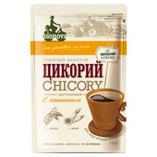 Цикорий Bionova с женьшенем, 100 гр