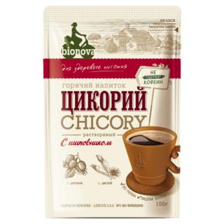 Цикорий Bionova с шиповником, 100 гр