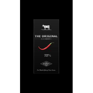 Горький шоколад SWISS ORIGINAL с кайенским перцем, 100 гр