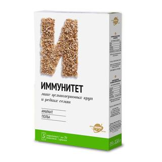 Цельнозерновая смесь Иммунитет из амаранта и полбы, 350 гр
