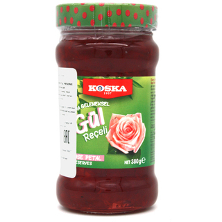 Варенье Koska из лепестков роз, 380 гр
