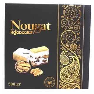 Нуга Hajabdollah с грецким орехом в подарочной упаковке, 200 гр