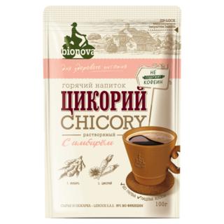 Цикорий Bionova с имбирем, 100 гр