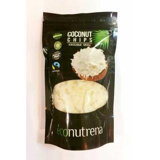Кокосовые чипсы Econutrena органические, 150 гр