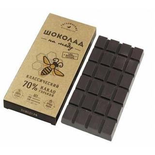 Шоколад на меду Гагаринские мануфактуры 70% какао