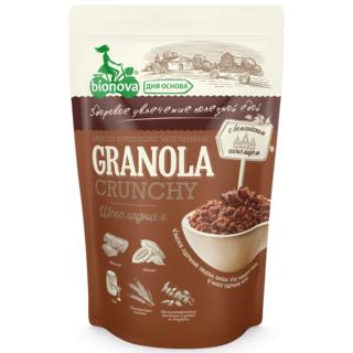 Мюсли хрустящие запеченые Bionova шоколадные, 400 гр
