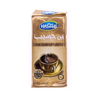 Арабский кофе Haseeb натуральный молотый с кардамоном, 500 гр
