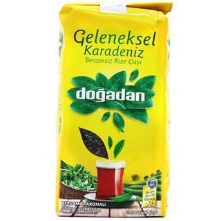 Турецкий черный чай Dogadan karadeniz с бергамотом, 500 гр