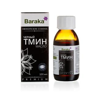 Масло чёрного тмина Baraka эфиопские семена, 100 мл